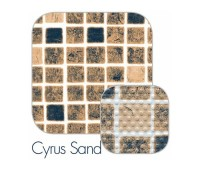 Пленка для бассейна CGT P4000 Cyrus Sand мозаика (ширина 1,65 м)