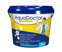 AquaDoctor хлор длительного действия MC-T 5 кг в таблетках по 200 г