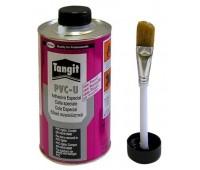Клей для труб ПВХ Henkel Tangit, 1000 гр (с кистью)