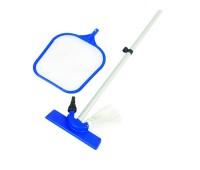 Набор для чистки бассейна Bestway (сачок, щетка, ручка 174 см)