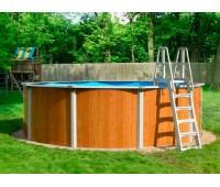 Бассейн круглый Atlantic pool Esprit (2,4х1,25 м)