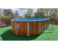 Бассейн овальный Atlantic pool Esprit-Big (10,0х5,5х1,35 м)
