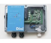 Блок управления водным аттракционом ДЕЛЬФИН-2 универсальный для пневмо- или пьезо- кнопки