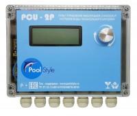 Пульт автоматического управления фильтрацией и нагревом воды PoolStyle PCU-2P (2 насоса)