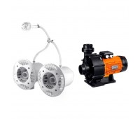Противоток AquaViva AV-JET-5.5DT Kit (380В, 68 м3/ч, 5.5HP)