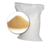 Кварцевый песок фракция 0,5-0,8 мм (мешок 25 кг)